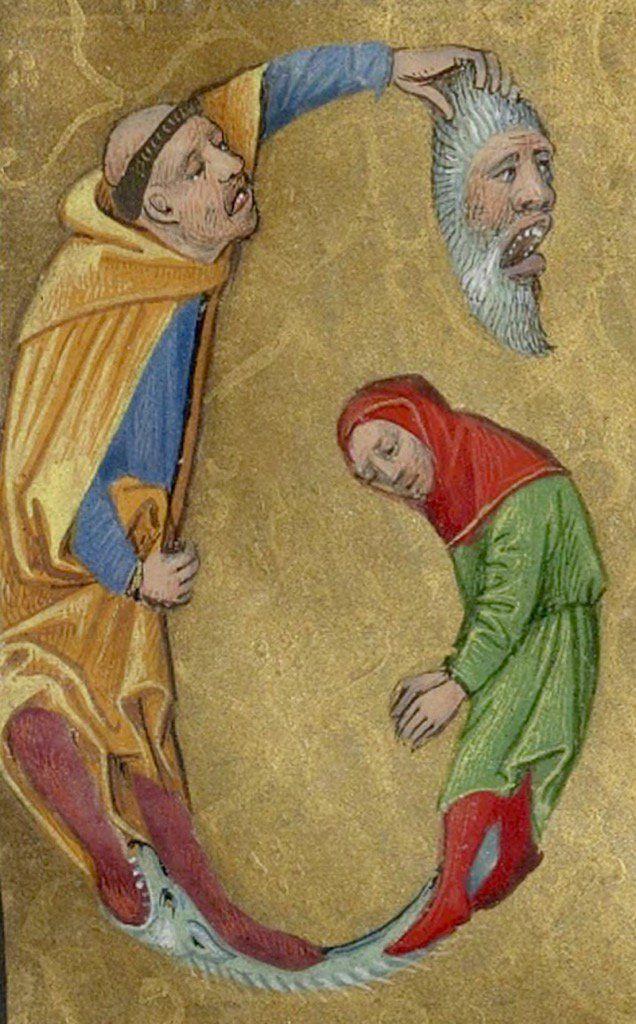 Бкувица. Medieval Abecedarium - C