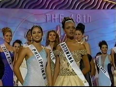 miss universe top 5 1983   MISS UNIVERSE 1999 Crowning