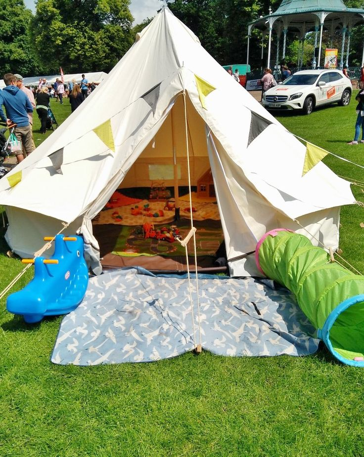 Shropshire Event Nannies and Muddy Boots Marquees