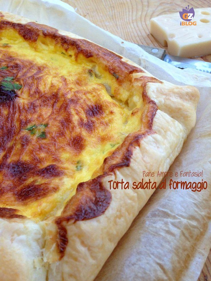 Torta salata al formaggio - ricetta rustica