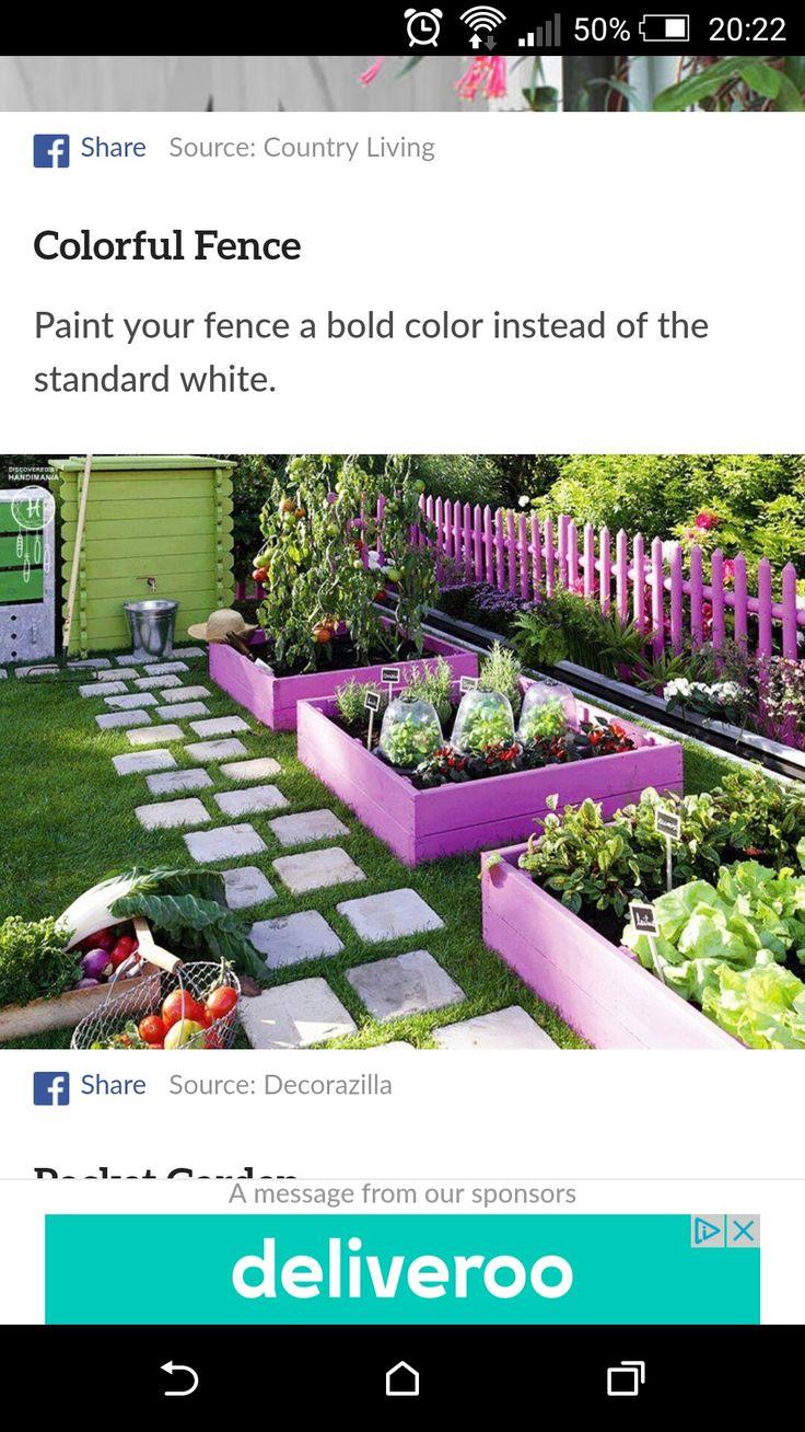 Super leuk idee voor de tuin.Op Facebook gevonden.