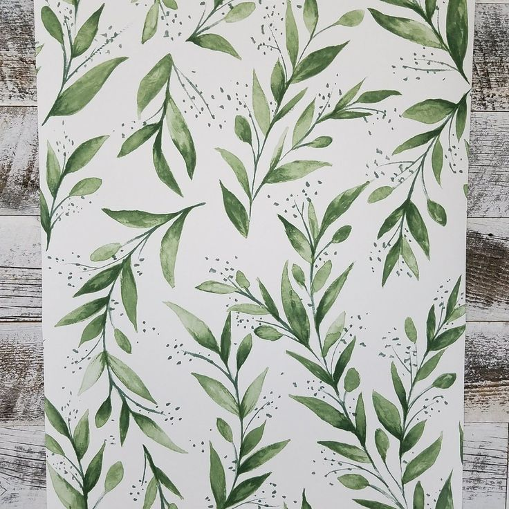 Magnolia Home Olive Branch Botanical Wallpaper ME1535