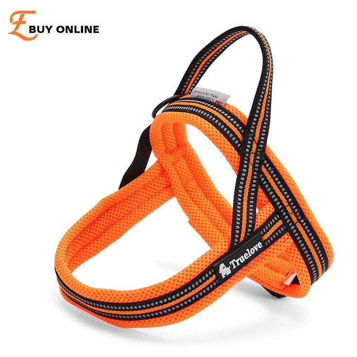 3M Reflective Security Soft Mesh Padded Dog Harness Pet Harness Nylon Adjustable Cat Puppy Dog Harness Soft Walk Vest Large Dog