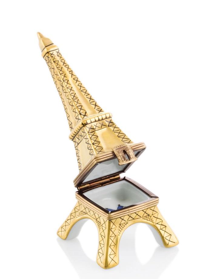 Rochard Limoges Eiffel Tower Box