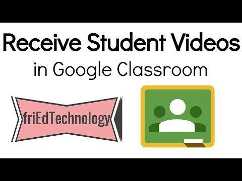 Learn how to create a video assignment in Google Classroom so that your students can upload their work to Google Classroom.