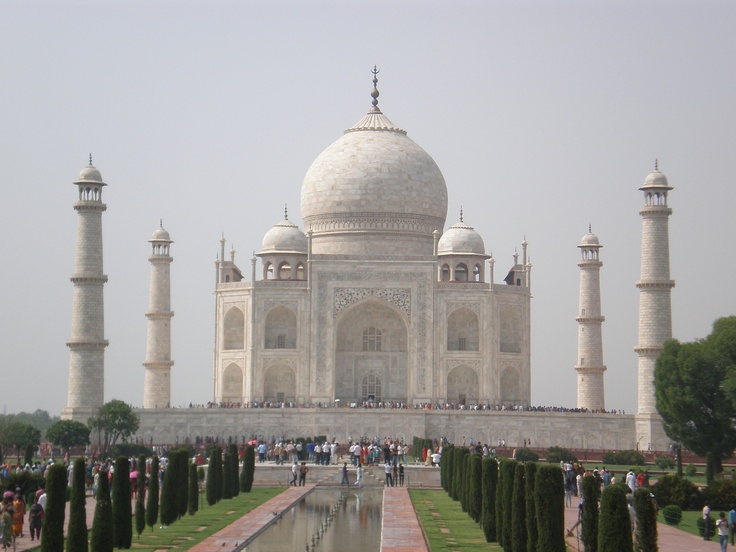 Taj Mahal  words are poor to describe the awe at its sight