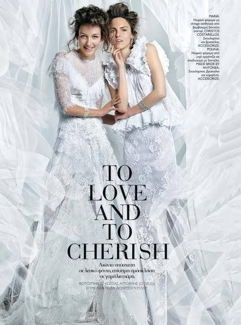 Madame Figaro November 2015 - Made Bride by Antonea wedding dress