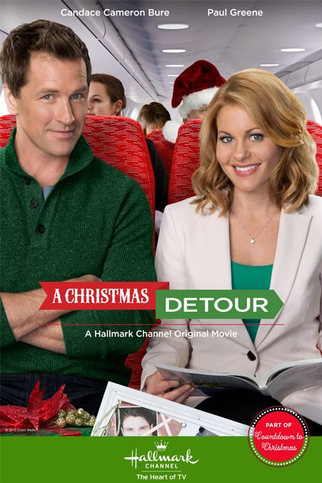 "Its a Wonderful Movie - Your Guide to Family Movies on TV: Candace Cameron Bure stars in ""A Christmas Detour"", a Hallmark Channel Original Christmas Movie 28/11/15"