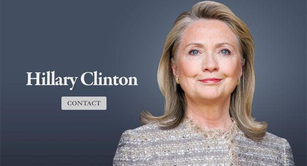 "Hillary Clinton team has new website: ""HillaryClintonOffice.com is bare-bones so-far, sporting only a picture of the former Secretary of State and a contact form. According to registration data, the site was created Jan. 31, and was last edited Sunday. The URL was registered through GoDaddy.com."""