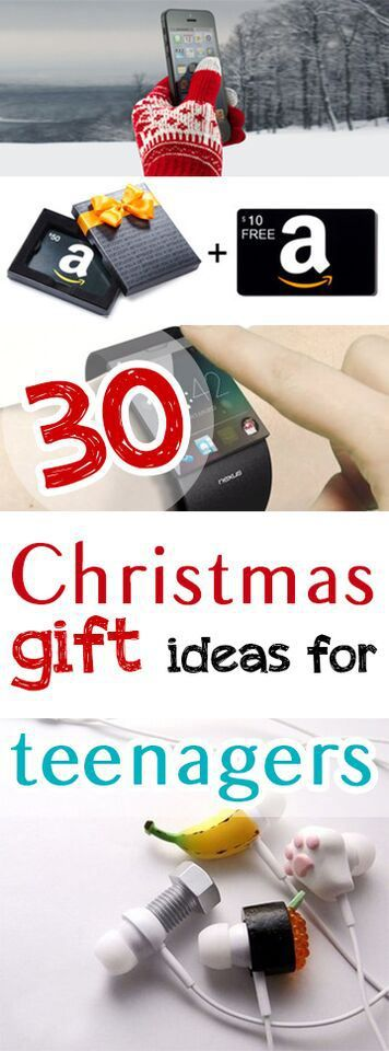 The hardest people on my list are often my teenagers. Here are some great Christmas gift ideas for the teenagers in your life!