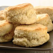 Easy Self-Rising Biscuits – Three ingredients and 20 minutes is all you need for this simple biscuit recipe.