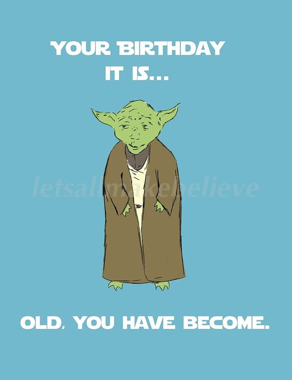 Yoda birthday humor