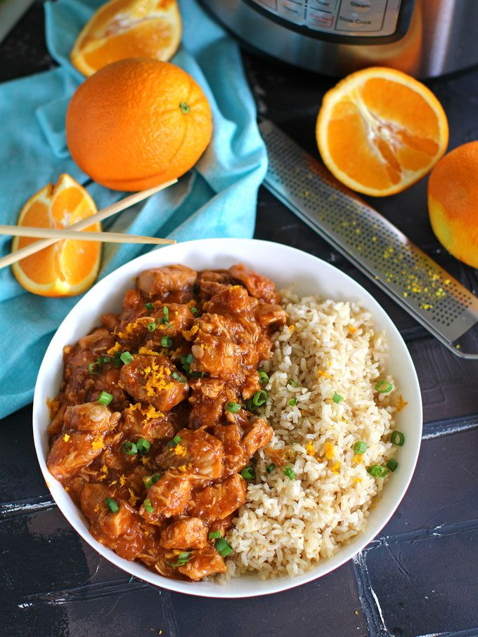 Instant Pot Orange Chicken is healthier than takeout and easy to make using your Instant Pot.