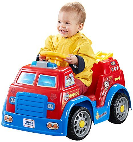 Special Offers - Fisher-Price Power Wheels Nickelodeon PAW Patrol Fire Truck - In stock & Free Shipping. You can save more money! Check It (June 03 2016 at 05:12AM) >> http://kidsscooterusa.net/fisher-price-power-wheels-nickelodeon-paw-patrol-fire-truck/