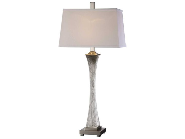 Uttermost billy moon vella silver champagne buffet lamp
