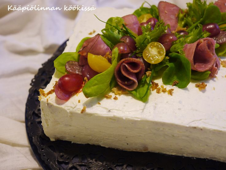 Kääpiölinnan köökissä: Valkosipulinen chili-härkäkakku