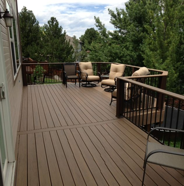 Timber Tech Evolutions Legacy Pecan Railing Fortress