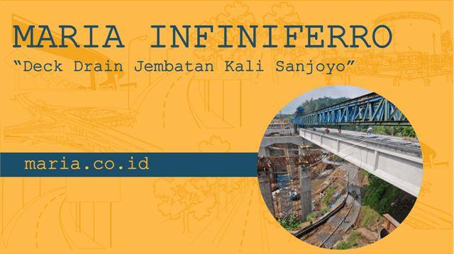 Jembatan Kali Sanjoyo merupakan bagian dari Jalan Tol Semarang - Solo. Deck…