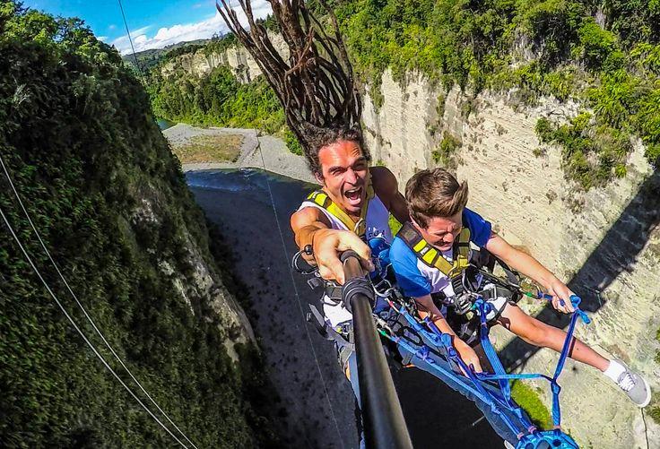 World's Fastest Zipline! Gravity Canyon in 4K! | Devinsupertramp