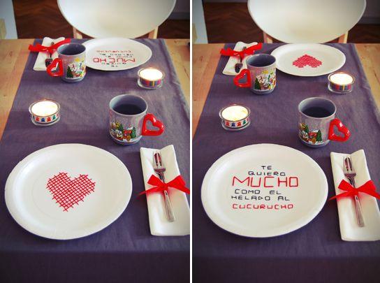 21 best images about decoraci n san valentin on pinterest - Ideas romanticas para hacer en casa ...