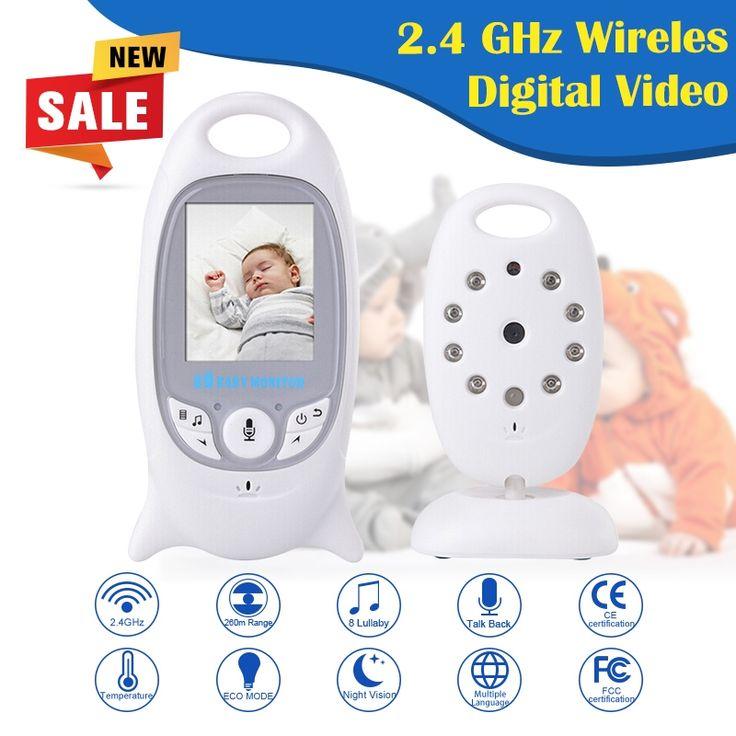 38.47$  Watch now - http://ali9xh.shopchina.info/go.php?t=32750477426 - Infant 2.4GHz Wireless Baby Radio Babysitter Digital Video Baby Monitor Audio Night Vision Music Temperature wireless camera HIK 38.47$ #magazineonlinebeautiful