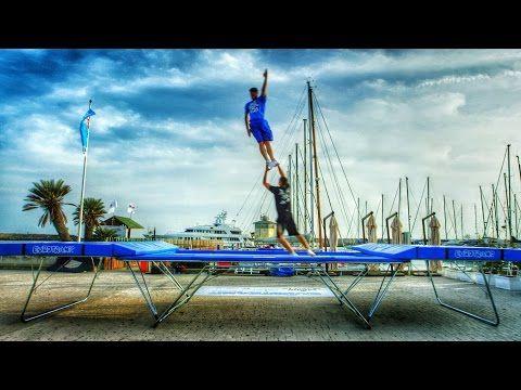 World's Best Trampoline Tricks! in 4K! Eurotramp - YouTube