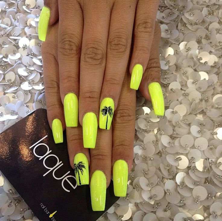 The 25 Best Palm Tree Nails Ideas On Pinterest Nail Art And Beach Designs