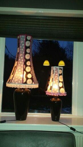 Diy lampshade doe het zelf lampenkap zelf maken