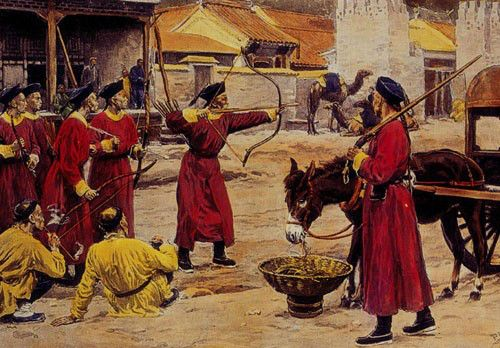 manchu-archery.painting