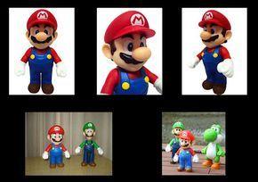 El Laboratorio de las Tartas: Tutorial Modelado de Figura de Super Mario en Fondant