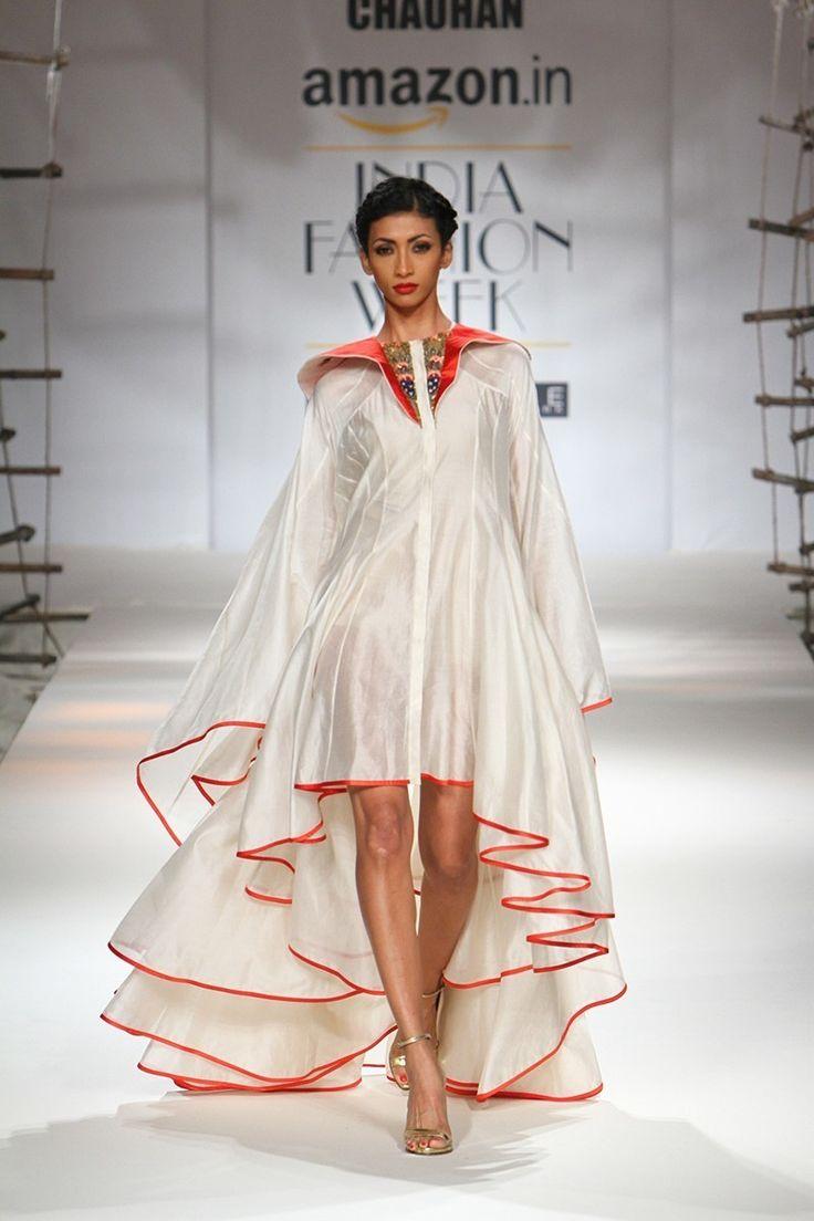 "fashionalistick: "" SAMANT CHAUHAN Spring/Summer 2016 collection INDIA FASHION WEEK """