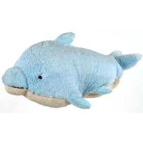 My Pillow Pet Dolphin - Small (Light Blue)  Order at http://amzn.com/dp/B003AU5YKI/?tag=trendjogja-20