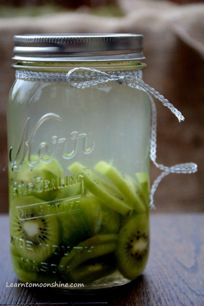 Kiwi Infused Moonshine Recipe