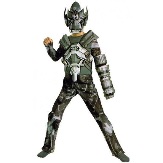Transformer Ironhide kostuum voor jongens. Ga verkleed als Ironhide van de Transformers met dit gave kostuum! Bestaat uit een jumpsuit en masker. Carnavalskleding 2015 #carnaval