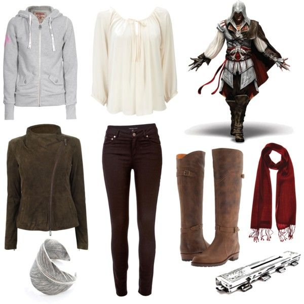 """Ezio Auditore da Firenze"" ... Assassin's Creed inspired outfit? Yes please."