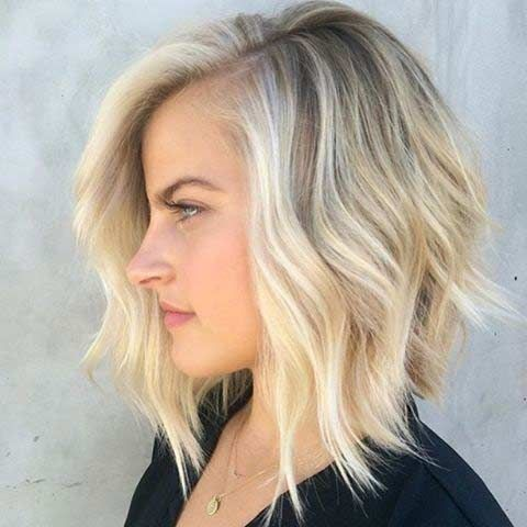 21. Choppy Blonde Bob We love how pale the blonde is in this hairstyle. The fade between dark blonde and light blonde is so pretty. Having to go back to the salon every 4-6 weeks to have your hair re-dyed can be a pain. The great thing about this style is that it will still look …