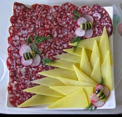 Украшение блюд к праздничному столу