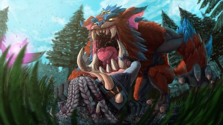 Mega Gnar League of Legends High Resolution Art Ovell ...