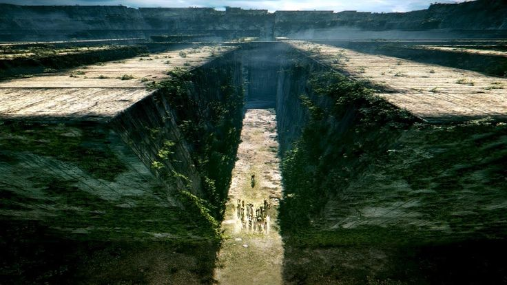 """The first in a young adult trilogy, the sci-fi book follows a young protagonist, Thomas, as he navigates a fantasy world called the Glade. With a group of other boys, they must solve the mystery of the maze they're in while dodging monsters and other danger. Based on the book """"The Maze Runner"""" written by James Dashner."""