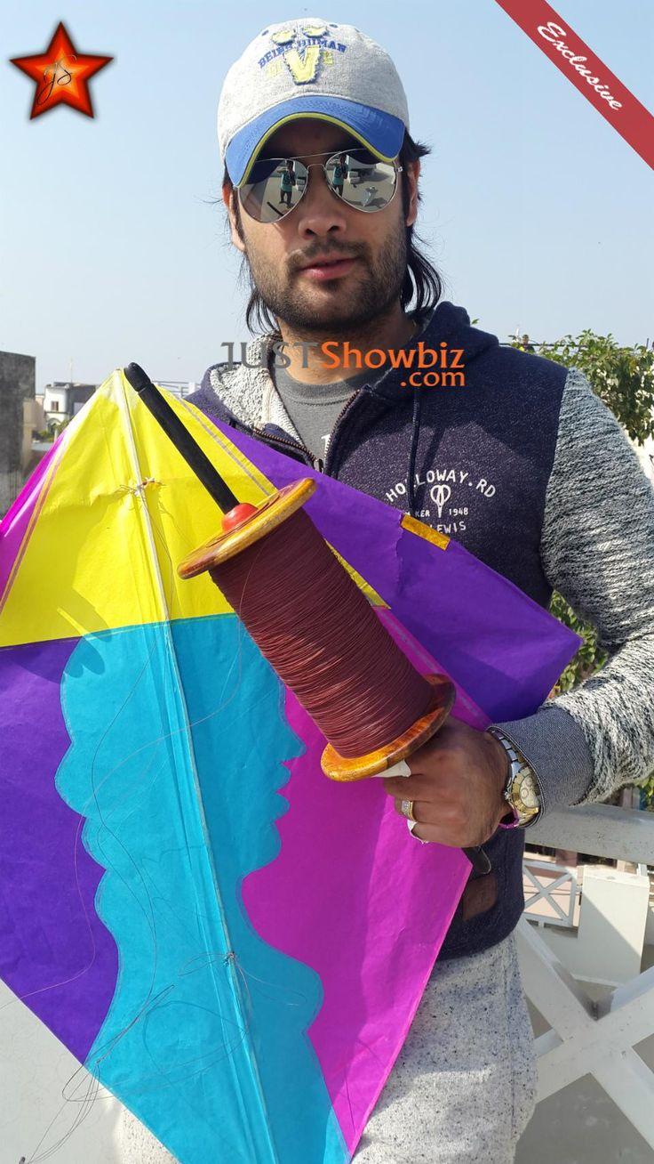 Cr:@JustShowbiz  #Exclusive:The Kite Champion Vivian Dsena @VivianDsena01 in Ujjain at MakarSankranti.