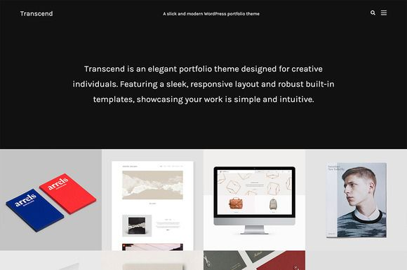 Transcend - Modern Portfolio Theme by Phase Themes on @creativework247