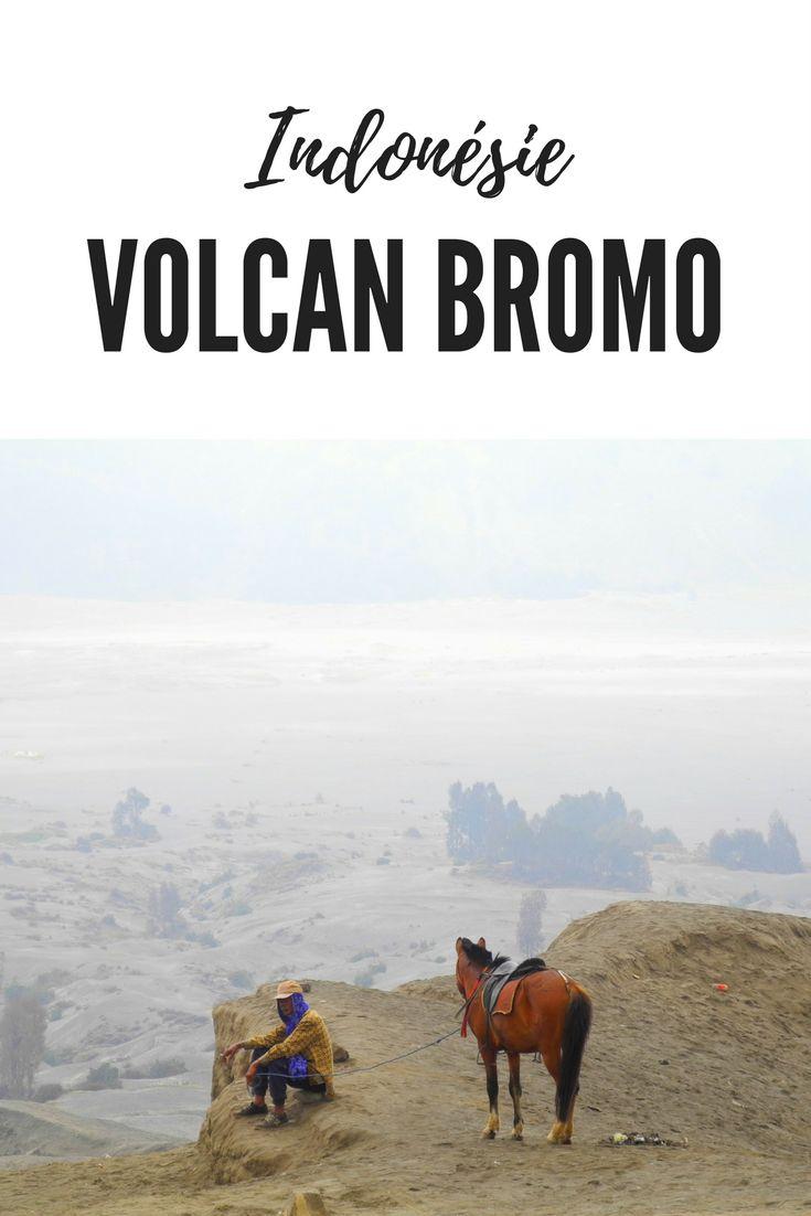 Le fascinant spectacle du volcan Bromo à Java en Indonédie: tous mes conseils pour en profiter un maximum! Lever de soleil sur le volcan Bromo et randonnée jusqu'au cratère du volcan et tous les conseils pratiques pour s'y rendre #voyage #indonésie #java #bromo #volcan