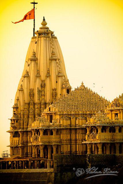Somnath Temple, Gujarat - pp by vkiran_2000