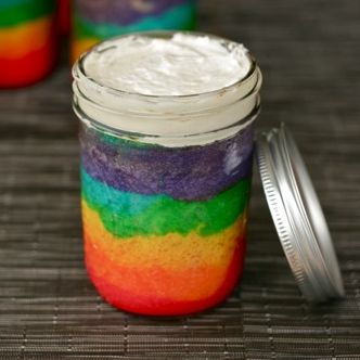 How to Bake a Cake in a Jar http://www.yummly.com/blog/2012/07/how-to-bake-a-cake-in-a-jar/