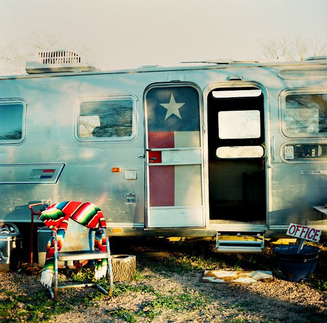 Don't mess with a Texan's Airstream!
