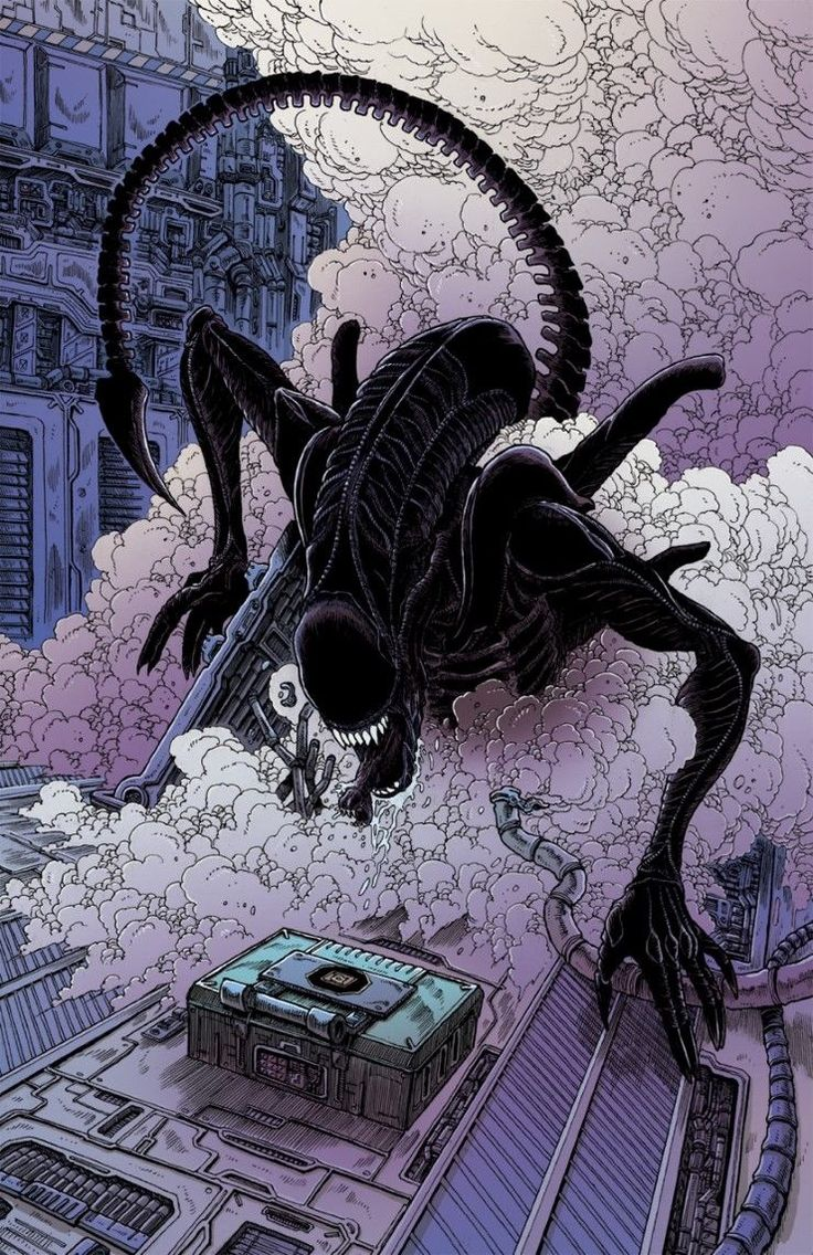 Aliens: Dead Orbit interview with James Stokoe about the Dark Horse Comics miniseries | SyfyWire