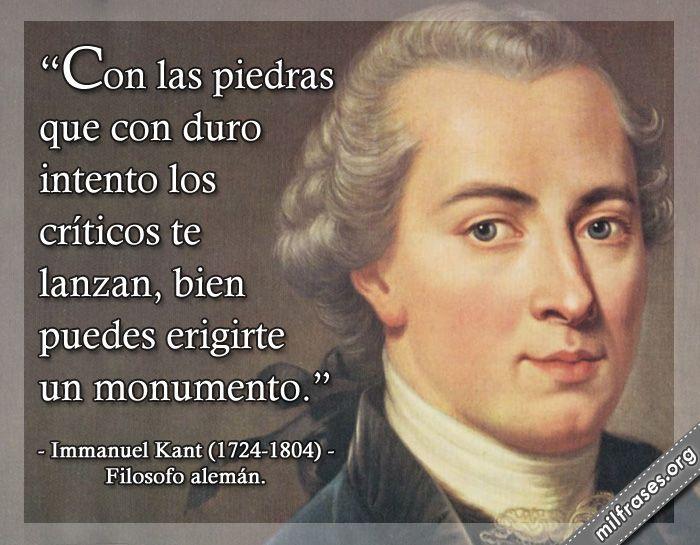 Immanuel Kant, filosofo alemán.