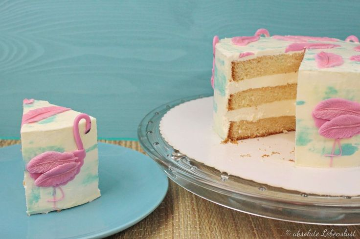 Flamingo Torte – Geburtstagstorte selber machen – Torten Rezepte | absolute Lebenslust