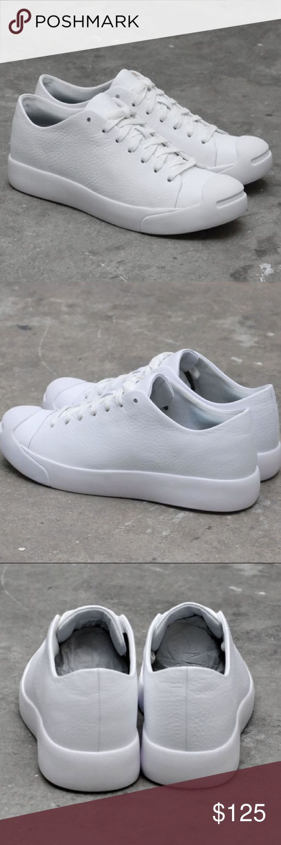 Converse x HTM Jack Purcell Modern White shoes Brand new without box. Converse Shoes Sneakers