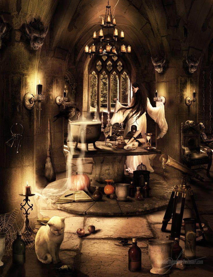 halloween all hallows the witches dungeon by madamethenadier - Halloween Witchcraft